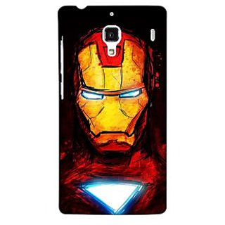 Jugaaduu Superheroes Ironman Back Cover Case For Redmi 1S - J250030