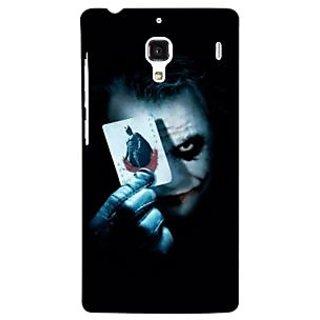 Jugaaduu Villain Joker Back Cover Case For Redmi 1S - J250032