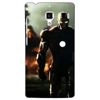Jugaaduu Superheroes Ironman Back Cover Case For Redmi 1S - J250033