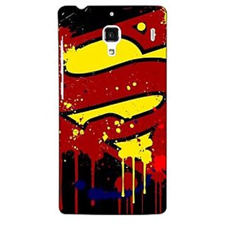 Jugaaduu Superheroes Superman Back Cover Case For Redmi 1S - J250034