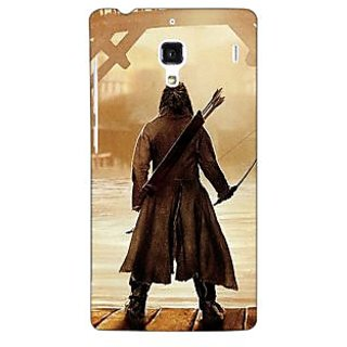 Jugaaduu LOTR Hobbit  Back Cover Case For Redmi 1S - J250374