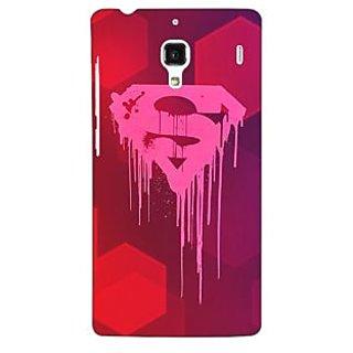 Jugaaduu Superheroes Superman Back Cover Case For Redmi 1S - J250380