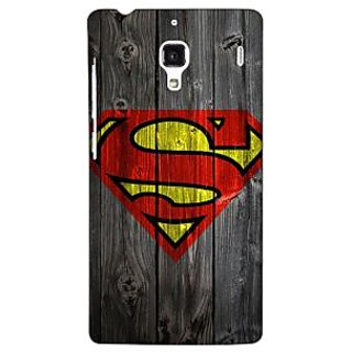 Jugaaduu Superheroes Superman Back Cover Case For Redmi 1S - J250384