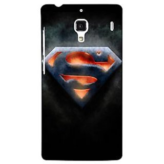Jugaaduu Superheroes Superman Back Cover Case For Redmi 1S - J250386