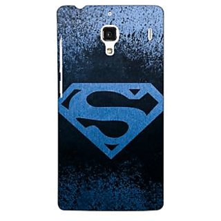 Jugaaduu Superheroes Superman Back Cover Case For Redmi 1S - J250393