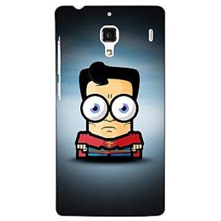 Jugaaduu Big Eyed Superheroes Superman Back Cover Case For Redmi 1S - J250397