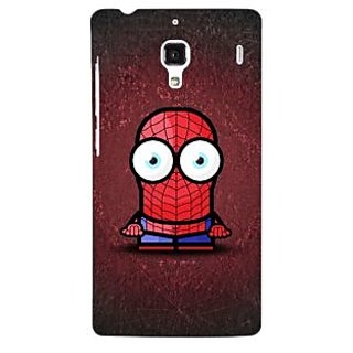 Jugaaduu Big Eyed Superheroes Spiderman Back Cover Case For Redmi 1S - J250398