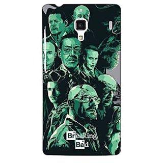 Jugaaduu Breaking Bad Heisenberg Back Cover Case For Redmi 1S - J250401