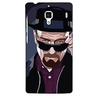 Jugaaduu Breaking Bad Heisenberg Back Cover Case For Redmi 1S - J250416