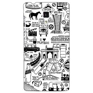 Jugaaduu Aamchi Mumbai Back Cover Case For Redmi 1S - J251444