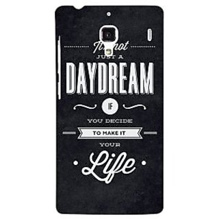 Jugaaduu Quote Back Cover Case For Redmi 1S - J251471
