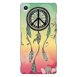 Jugaaduu Dream Catcher  Back Cover Case For Sony Xperia Z3 - J260190