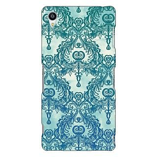 Jugaaduu Vintage Pattern Back Cover Case For Sony Xperia Z3 - J260223