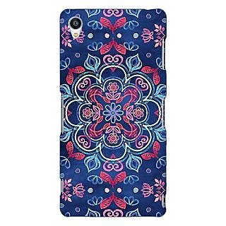 Jugaaduu Night Floral Pattern Back Cover Case For Sony Xperia Z3 - J260226