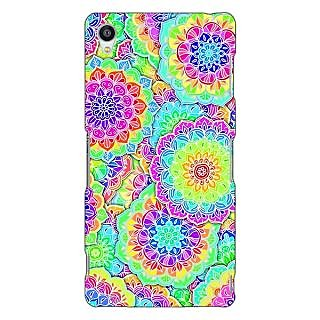 Jugaaduu Psychdelic Floral  Pattern Back Cover Case For Sony Xperia Z3 - J260235
