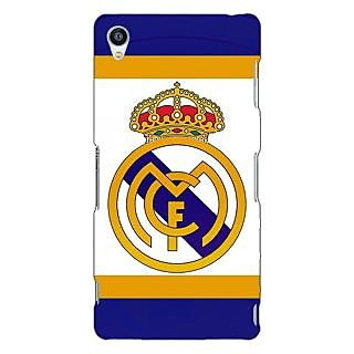 Jugaaduu Real Madrid Back Cover Case For Sony Xperia Z3 - J260594