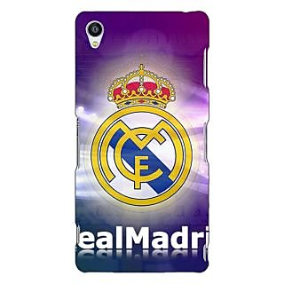 Jugaaduu Real Madrid Back Cover Case For Sony Xperia Z3 - J260595