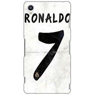 Jugaaduu Real Madrid Ronaldo Back Cover Case For Sony Xperia Z3 - J260598