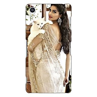Jugaaduu Bollywood Superstar Sonam Kapoor Back Cover Case For Sony Xperia Z3 - J260998