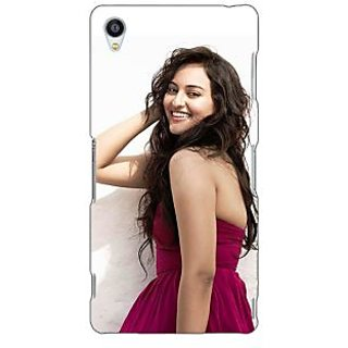 Jugaaduu Bollywood Superstar Sonakshi Sinha Back Cover Case For Sony Xperia Z3 - J261020