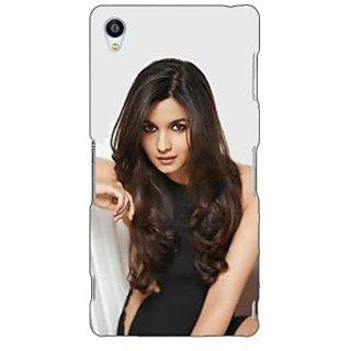 Jugaaduu Bollywood Superstar Alia Bhatt Back Cover Case For Sony Xperia Z3 - J261027