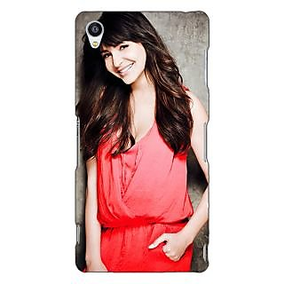 Jugaaduu Bollywood Superstar Anushka Sharma Back Cover Case For Sony Xperia Z3 - J261031