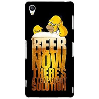 Jugaaduu Beer Quote Back Cover Case For Sony Xperia Z3 - J261261