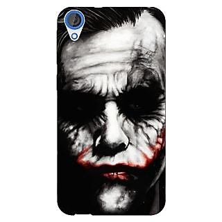 Jugaaduu Villain Joker Back Cover Case For HTC Desire 820 - J280024