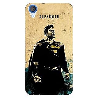 Jugaaduu Superheroes Superman Back Cover Case For HTC Desire 820 - J280027
