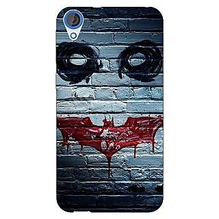 Jugaaduu Villain Joker Back Cover Case For HTC Desire 820 - J280028