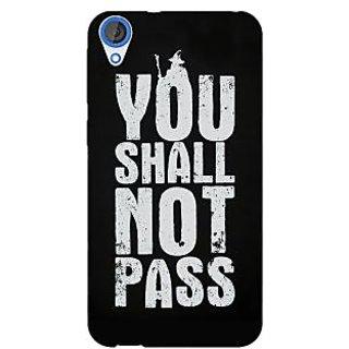 Jugaaduu LOTR Hobbit Gandalf Back Cover Case For HTC Desire 820 - J280362