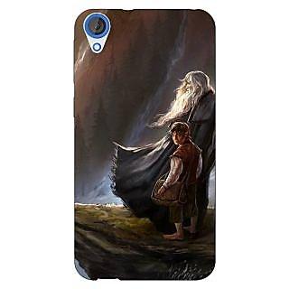 Jugaaduu LOTR Hobbit Gandalf Back Cover Case For HTC Desire 820 - J280365