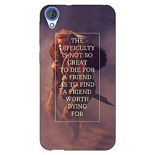 Jugaaduu LOTR Hobbit  Back Cover Case For HTC Desire 820 - J280367
