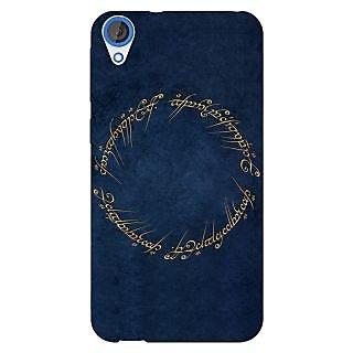 Jugaaduu LOTR Hobbit  Back Cover Case For HTC Desire 820 - J280371