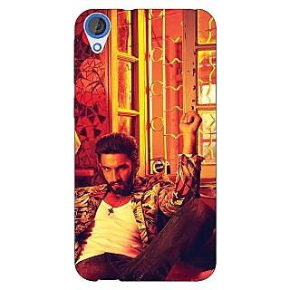 Jugaaduu Bollywood Superstar Ranveer Singh Back Cover Case For HTC Desire 820 - J280905