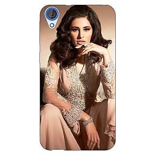 Jugaaduu Bollywood Superstar Nargis Fakhri Back Cover Case For HTC Desire 820 - J281075