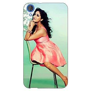 Jugaaduu Bollywood Superstar Yami Gautam Back Cover Case For HTC Desire 820 - J281076