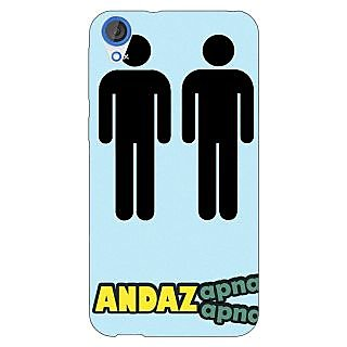 Jugaaduu Bollywood Superstar Andaz Apna Apna Back Cover Case For HTC Desire 820 - J281080