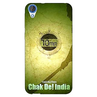 Jugaaduu Bollywood Superstar Chak De India Back Cover Case For HTC Desire 820 - J281082