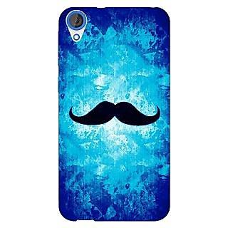 Jugaaduu Moustache Back Cover Case For HTC Desire 820 - J281449