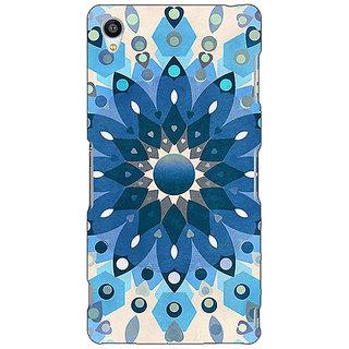Jugaaduu Dream Flower Pattern Back Cover Case For Sony Xperia Z3 - J260255