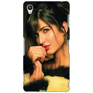 Jugaaduu Bollywood Superstar Katrina Kaif Back Cover Case For Sony Xperia Z3 - J261056