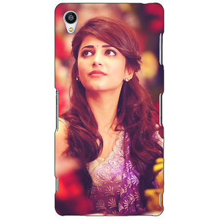 Jugaaduu Bollywood Superstar Shruti Hassan Back Cover Case For Sony Xperia Z3 - J261074