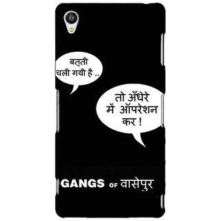 Jugaaduu Bollywood Superstar Gangs Of Wasseypur Back Cover Case For Sony Xperia Z3 - J261101