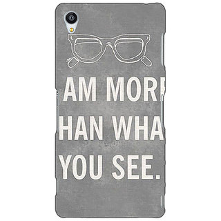 Jugaaduu Quote Back Cover Case For Sony Xperia Z3 - J261316