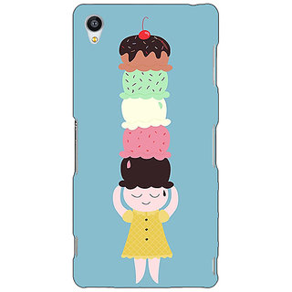 Jugaaduu Ice Cream Back Cover Case For Sony Xperia Z3 - J261340