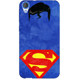 Jugaaduu Superheroes Superman Back Cover Case For HTC Desire 820 - J280046