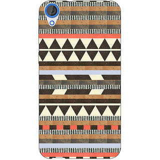 Jugaaduu Aztec Girly Tribal Back Cover Case For HTC Desire 820 - J280062