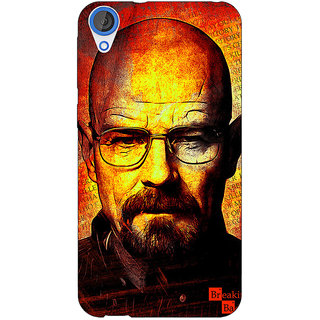 Jugaaduu Breaking Bad Heisenberg Back Cover Case For HTC Desire 820 - J280405
