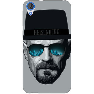 Jugaaduu Breaking Bad Heisenberg Back Cover Case For HTC Desire 820 - J280413